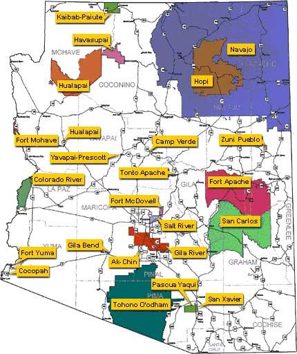 Navajo Reservation Arizona Map.Navajo Nation